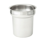 Winco INS-4.0 Stainless Steel Vegetable Inset - 4 Qt.