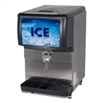 ICE-O-Matic 150-lb Ice Storage Capacity Ice Dispenser, (IOD150)