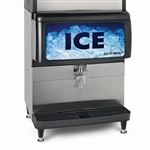 ICE-O-Matic 200-lb Ice Storage Capacity Ice Dispenser, (IOD200)