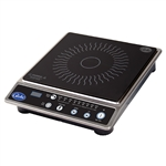 Globe Single Burner Countertop Induction Cooktop - 120V, 1800 Watt -  IR1800