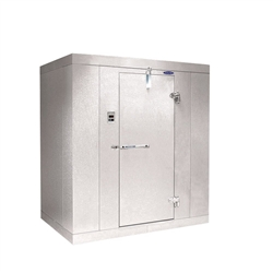 "Norlake Walk In Cooler, Modular, Self-Contained - 6' W x 6' L x 7'-7"" H, (KLB7766-C)"