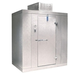 "Norlake Walk In Freezer Modular, Self-Contained - 6' W x 6' L x 7'-7"" H, (KLF7766-C)"