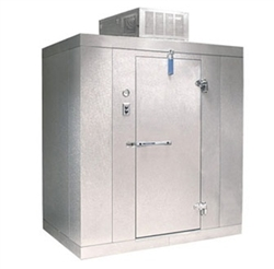 "Norlake Walk In Freezer Modular, Self-Contained - 6' W x 8' L x 7'-7"" H, (KLF7768-C)"