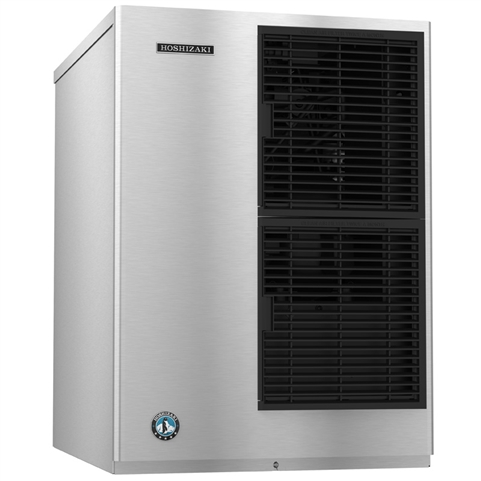404 Lb Crescent Cube Ice Maker - Air Cooled - 22 Inches Wide - Slim Line Series (Hoshizaki KM-340MAJ)