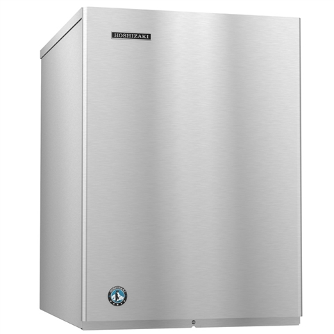 495 Lb Crescent Cube Ice Maker - Water Cooled - 22 Inches Wide - Slim Line Series (Hoshizaki KM-515MWJ)