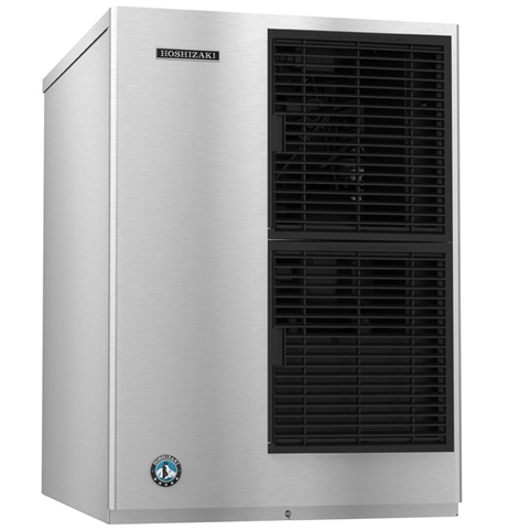 630Lb Crescent Cube Ice Maker - Air Cooled - 22 Inches Wide - Slim Line Series (Hoshizaki KM-650MAJ)