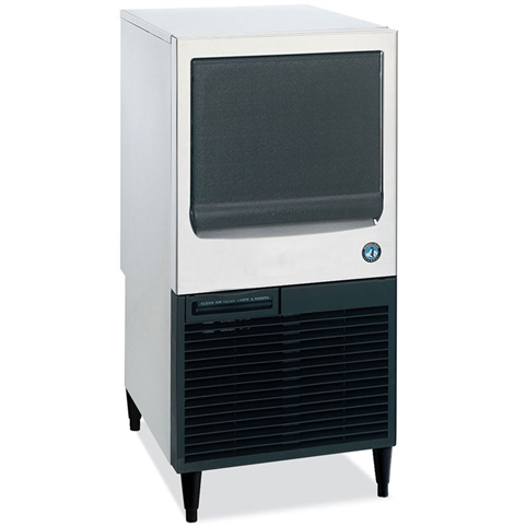 86 Lb Undercounter Crescent Cube Ice Maker with 38 lb Storage Bin - Air Cooled - (Hoshizaki KM-80BAJ)