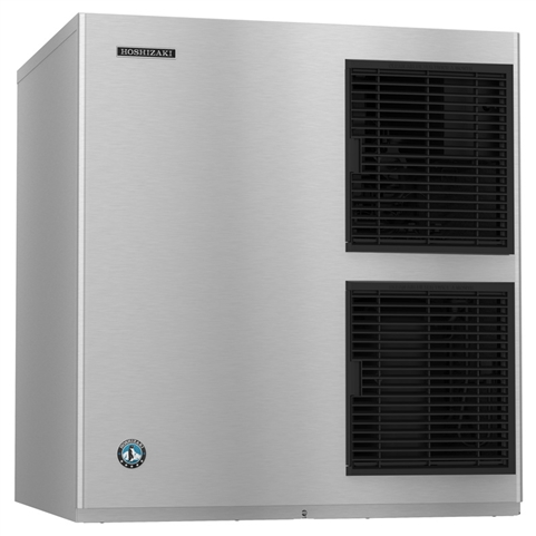 950 Lb Crescent Cube Ice Maker - Air Cooled - 30 Inches Wide (Hoshizaki KM-901MAJ)