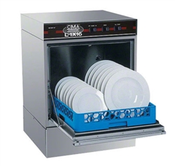 CMA L-1X16 Undercounter Dishwasher - Low Temp