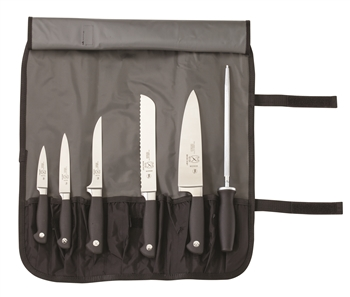 Mercer Genesis 7-Piece Knife Set with Roll Case  (M21800)