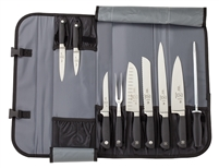 Mercer Genesis 10-Piece Knife Set with Roll Case (M21810)