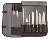 Mercer Renaissance 10-Piece Knife Roll Case Set (M21860)