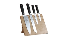 Mercer Genesis 5-Piece Knife Set with  Magnetic Board Holder (M21960)
