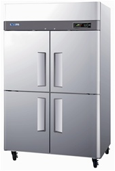 Turbo Air 47 Cu.Ft. (4) Door (2) Section Reach-in Freezer, (M3F47-4)