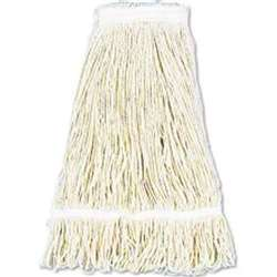 Royal Industries Wet Mop Head - #24 Webbed Cotton, (MOP 24 WEB)