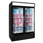 Norlake (2) Door 45.7 Cu.Ft. Freezer Merchandiser, (NLGFP48-HG-B)