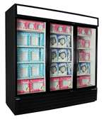 Norlake (3) Door 70.2 Cu.Ft. Freezer Merchandiser, (NLGFP74-HG-B)