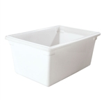 "Winco Food Storage Box - 26"" x 18"" x 12"", White"