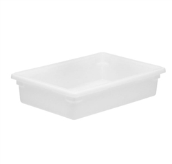 "Winco Food Storage Box - 26"" x 18"" x 6"", White"