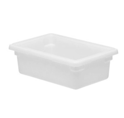 "Winco Food Storage Box - 18"" x 12"" x 6"", White"