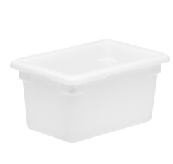 "Winco Food Storage Box - 18"" x 12"" x 9"", White"
