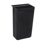 Thunder Group PLBC0013B Bus Cart Trash Bin