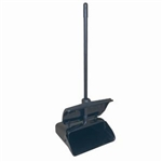 13-Inch Lobby Dust Pan with Window Break Cover, (PLDP345)