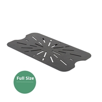 Thunder Group Black Polycarbonate Drain Tray, Full Size, (PLPA7000DSBK)