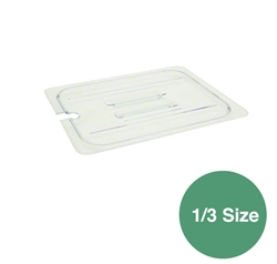 Food Pan Cover 1/3 Size Slotted