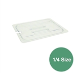 Food Pan Cover 1/4 Size Slotted