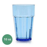 Thunder Group Diamond Tumbler - 10 Oz., Blue Color (PLPCTB110BL)