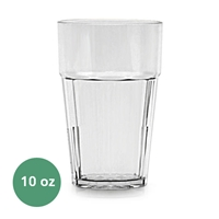 Thunder Group Diamond Tumbler - 10 Oz., Clear Color (PLPCTB110CL)
