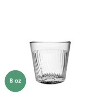 Thunder Group Belize Tumbler - 8 Oz., Clear Color (PLPCTB308CL)