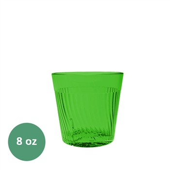 Thunder Group Belize Tumbler - 8 Oz., Green Color (PLPCTB308GR)