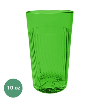 Thunder Group Belize Tumbler - 10 Oz., Green Color (PLPCTB310GR)