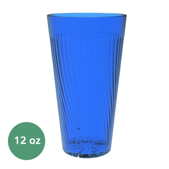 Thunder Group Belize Tumbler - 12 Oz., Blue Color (PLPCTB312BL)
