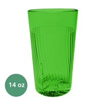 Thunder Group Belize Tumbler - 14 Oz., Green Color (PLPCTB314GR)