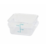 Square Food Storage Container - 2 Qt., Clear