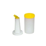 Winco Pour - Yellow Spout & Lid - 1 Qt., (PPB-1Y)