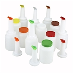 Winco Pour - 2 Each Color Per Case - 2 Qt., (PPB-2MX)