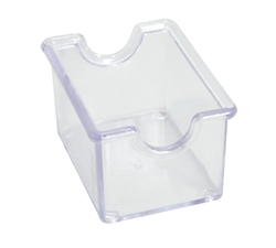 Winco Plastic Sugar Packet Holder - Clear, (PPH-1C)