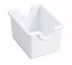 Winco Plastic Sugar Packet Holder - White, (PPH-1W)