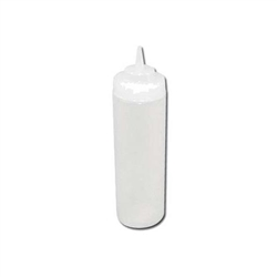 Winco Wide Mouth Squeeze Bottle - Clear - 12 Oz., 6 Pc/Pack, (PSW-12)