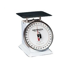Detecto Petite Top Loading Rotating Dial Scale - 5 lb x 1/2 oz, (PT-5R)