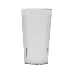 Winco Clear Pebbled Tumbler - 12 Oz., (PTP-12C)