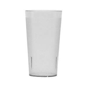 Winco Pebbled Tumblers 16-Ounce Clear