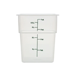 Square Food Storage Container - 4 Qt., Translucent