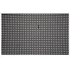 "Rubber Floor Mat - 3' x 5' x 3/4"" - Black"
