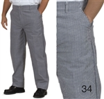 Royal Industries RCP-250-34 Chef's Pants
