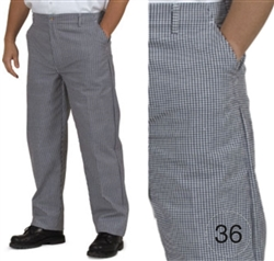 Royal Industries RCP-250-36 Chef's Pants